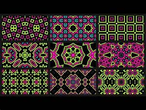 Abstract Neon Full HD VJ Loops Pack v2