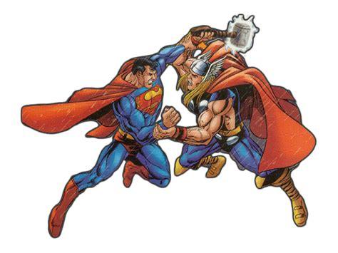 thor vs superman jla