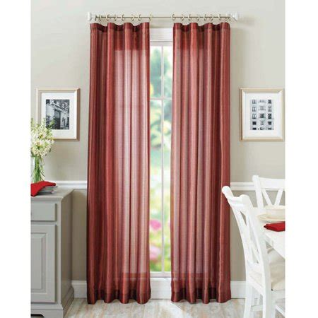 better homes and gardens curtains better homes and garden curtain panel walmart