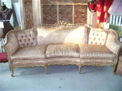 beautiful antique vintage french provincial sofa