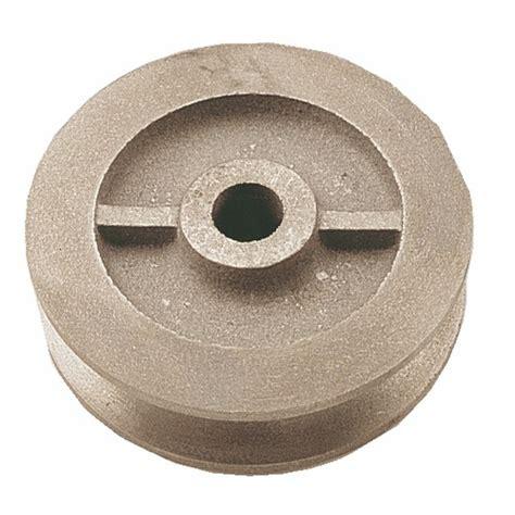 galet pour porte coulissante galet en fonte pour porte coulissante sur fer plat gorge ronde jardinier massard bricozor