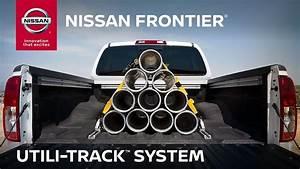 2019 Nissan Frontier Utili-track Cargo System