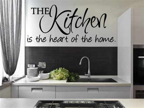 stickers cuisine originaux 39 the kitchen is the of the home 39 amazing kitchen