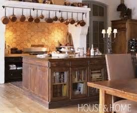 kitchens with open shelving ideas repurposed reclaimed nontraditional kitchen island
