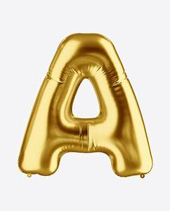 letter a foil balloon mockup in object mockups on yellow With letter balloons atlanta