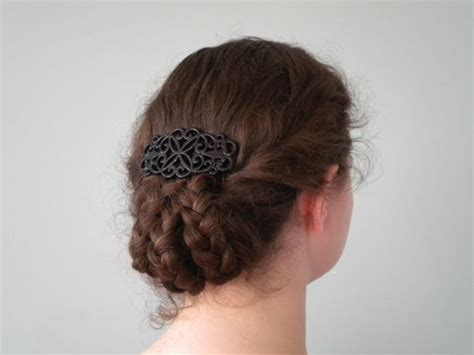 late victorian triple braided tuck hair stuff