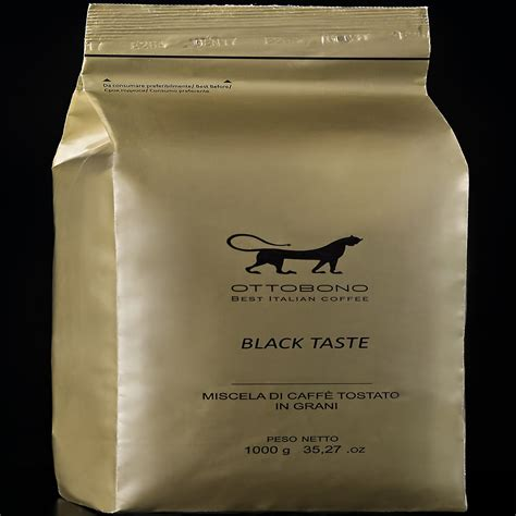 What makes one roast of coffee better than another? Coffee bean blend, Black Taste, 1kg
