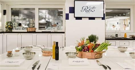 cours de cuisine ritz des lieux d 39 exception uniques à hôtel ritz