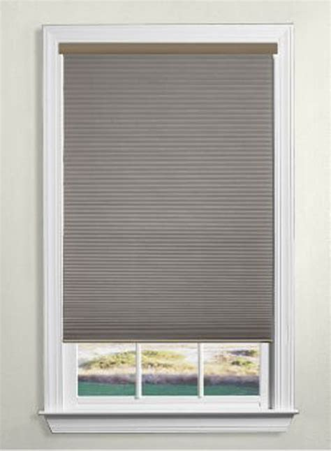 cordless window blinds levolor cellular cordless blinds the home depot canada