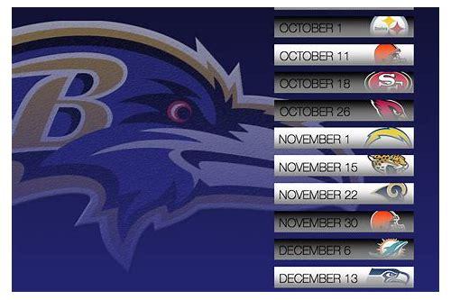 baixar baltimore ravens 2015 schedule