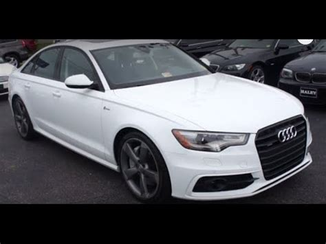 2014 Audi A6 by 2014 Audi A6 3 0t Prestige Walkaround Start Up Tour And