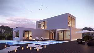 Maison Moderne Toit Plat : tendance maisons modernes et contemporaines avec toit plat ~ Nature-et-papiers.com Idées de Décoration