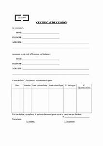 Acte Vente Vehicule : certificat de cession d 39 un perroquet doc pdf page 1 sur 1 ~ Gottalentnigeria.com Avis de Voitures