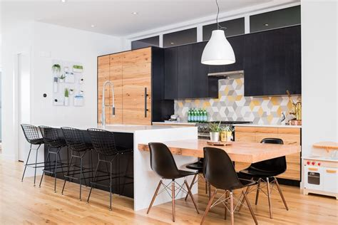 kitchen island with table extension stylish seating options for modern kitchen islands