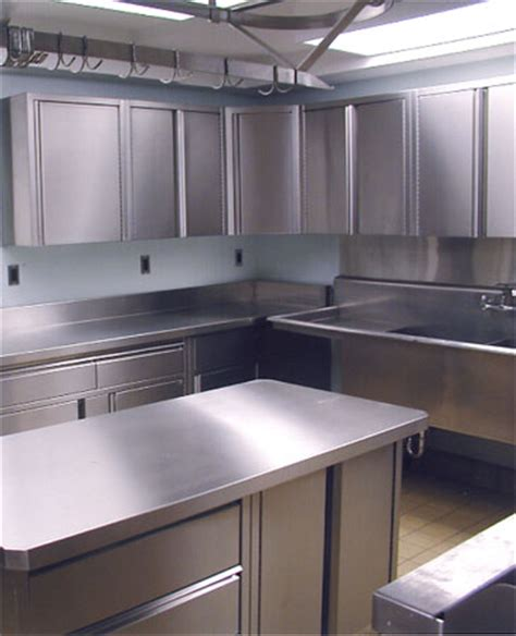Stainless Steel Kitchen Furniture Craft Metal Stainless Steel Cabinets Cabinetry Systems Countertop Fabrication