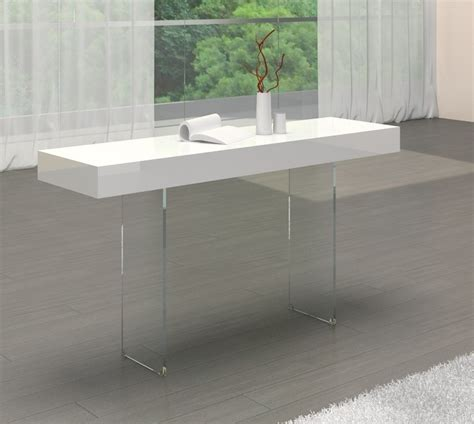 Sofa Table Contemporary by Venice White Modern Console Table Contemporary Console Table