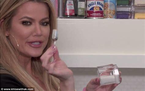 Khloe Kardashian reveals more of her organized kitchen ...