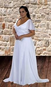 beach wedding dresses plus size With cheap plus size beach wedding dresses