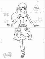 Coloring Secret Jouju sketch template