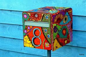 Boite à Clés Originale : deco 10 id es de boites aux lettres originales art postal ou mail art pinterest d co ~ Teatrodelosmanantiales.com Idées de Décoration