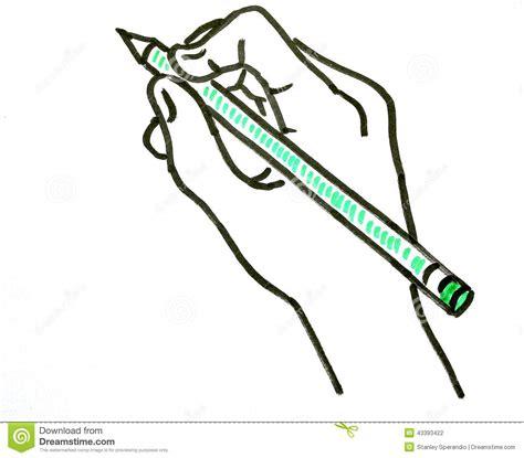 bureau avec plan de travail remettez le dessin d 39 une avec un crayon vert photo