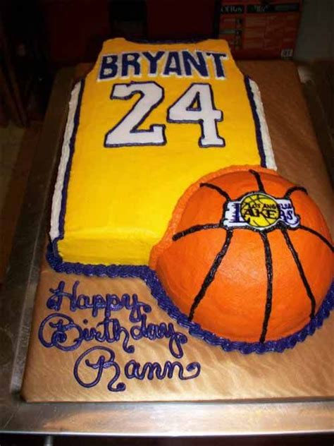basketball birthday cakes ideas  pinterest