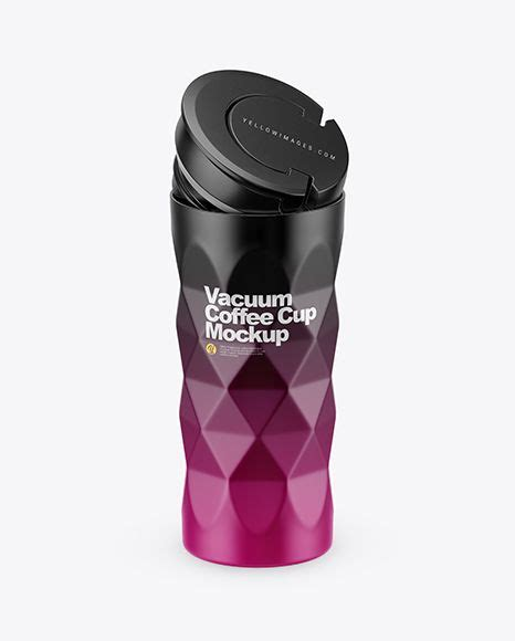 With this fantastic, beautiful and easy to use free mug mockups, you can create outstanding presentations. Download 420ml Opened Matte Vacuum Coffee Cup Mockup (High ...