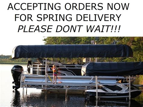 Aluminum Boats In Ontario by Ontario Boat Lifts Is The Leader In Aluminum Boat Pontoon