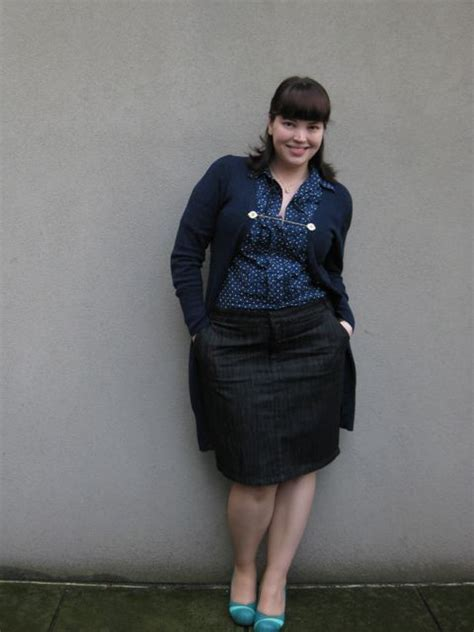 Plus Size Denim Skirts 5 best outfits - Page 5 of 5 - plussize-outfits.com