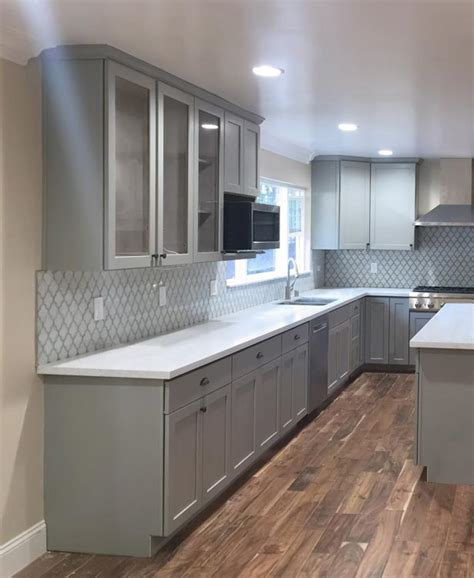 huntwood cabinets arctic grey fgy and cabinet gallery