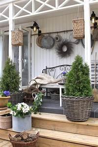 20, Amazing, Farmhouse, Rustic, Porch, Decor, Ideas