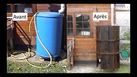 comment faire un cache pour bidon r 233 cup 233 rateur d eau de pluie