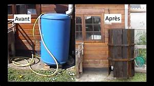 Installation Recuperateur Eau De Pluie : comment faire un cache pour bidon r cup rateur d 39 eau de pluie youtube ~ Dode.kayakingforconservation.com Idées de Décoration