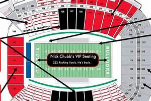 Judgmental Seating Chart Of Uga 39 S Sanford Stadium