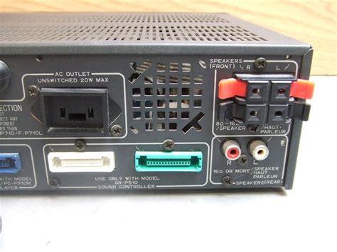 Pioneer Ap510 Home Audio Stereo Preamp Amplifier