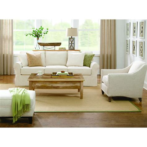 sofa springs home depot home decorators collection mayfair classic natural twill