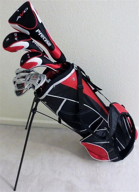 mens senior golf set complete driver fairway wood hybrid irons putter  graphite game