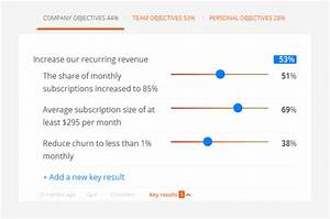 achieving success with okrs like google linkedin With google okr template