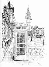 Booth Phone Drawing English London Deviantart Yahoo Drawings Gemerkt Von Paintingvalley sketch template