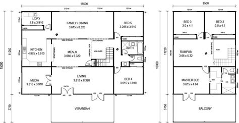 home layout plans country kit home