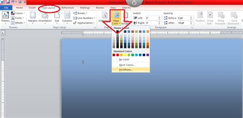 93 Print Background Color On Word Document Change