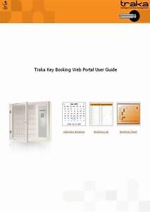 Traka Key Booking Web Portal User Guide 1
