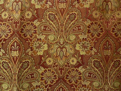 Upholstery Fabric by Drapery Upholstery Fabric Traditional Woven Floral Paisley