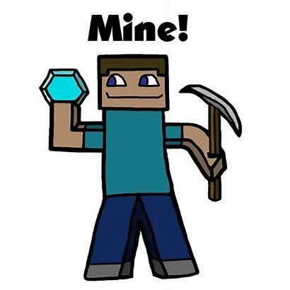 Minecraft Steve Clipart Characters Clip Drawing Diamond