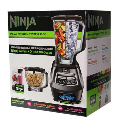 Ninja Mega Kitchen System 72 Oz Blender  1500w Motor To