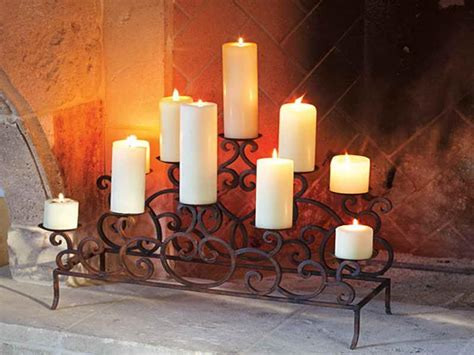 fireplace candle holders ideas for majestic fireplace candle holders fireplace
