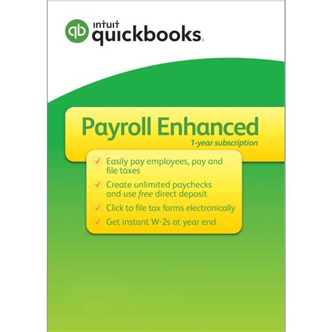 quickbooks payroll enhanced direct deposit payroll taxes calculated