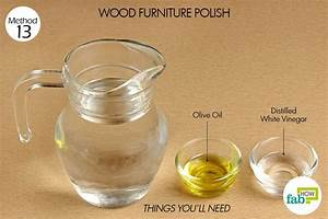 Cleaning with vinegar 10 effective household uses fab how for Homemade furniture polish olive oil vinegar