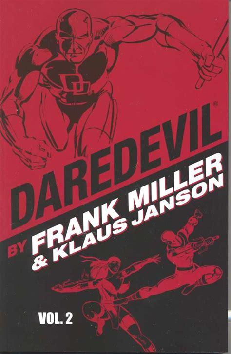 Daredevil Vol 7 3 junk food for thought reviews daredevil by frank miller