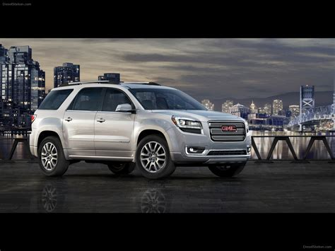 gmc acadia  exotic car pictures    diesel station